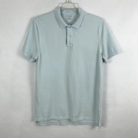 38233f3b J. Crew Shirts | J Crew Blue Short Sleeve Polo Shirt | Poshmark